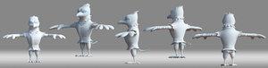 birdman 3D model