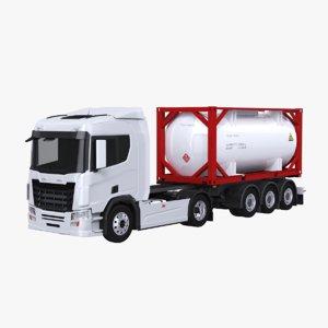 3D model euro truck iso 20