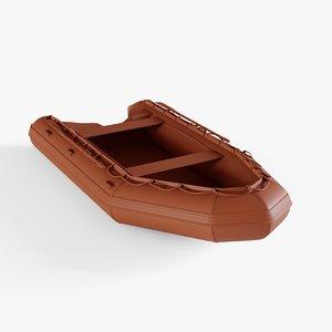 life lifeboat 3D model