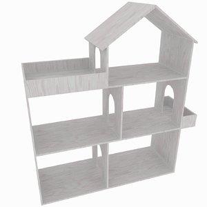dollhouse simple rt 3D model