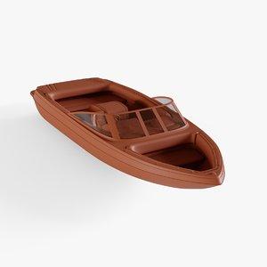 motor boat model