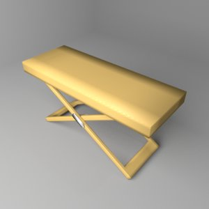 3D model picnic folding table