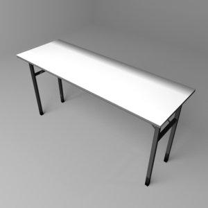 banquet folding table 3D model