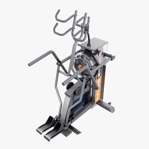 3D erg elliptical trainer