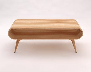 table lounge 3D model