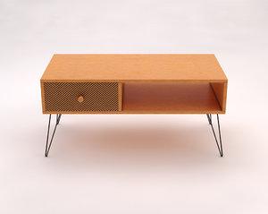 3D lounge table model