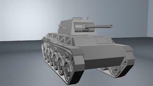 kv-1 tank 3D model