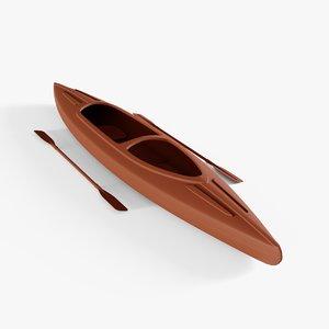 kayak 3D