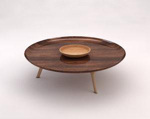 3D table lounge model