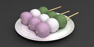 dango sweet 3D model