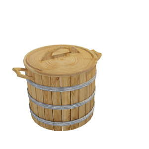 barrel decoration 3D model
