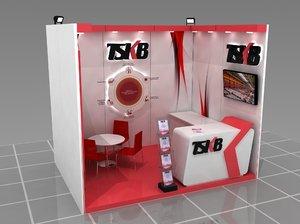 3D modular fair stand