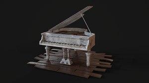 ready piano 3D