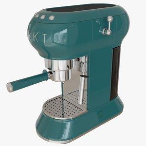 3D vintage espresso machine