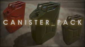 canister pack 3D