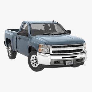 4wd pickup truck 3D