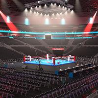 Boxing Stadium - High detail
