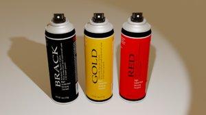 3D paint spray
