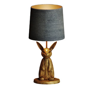 3D table lamp emily meritt