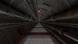 tunnel service 3D model