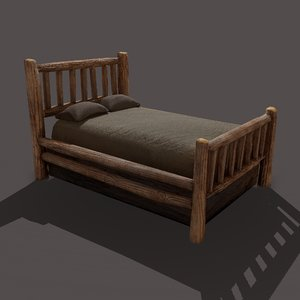 3D viking style bed