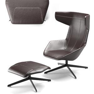 moroso armchair chair model