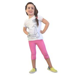 3D girl standing