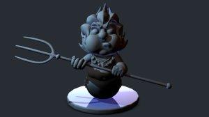 tritn 3D model