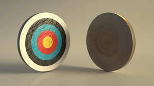 3D archery model