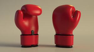 boxe glove 3D model