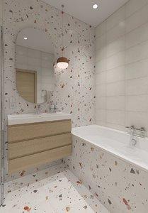 bathroom shower interior model