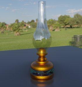 gaslamp oillamp model