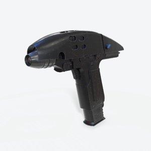 3D star trek gun model