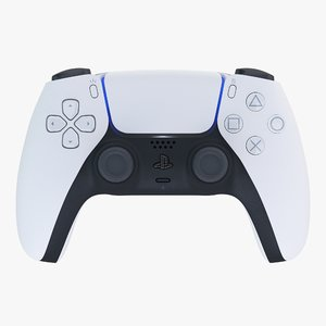 3D dualsense playstation 5