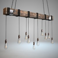 Wood block Light