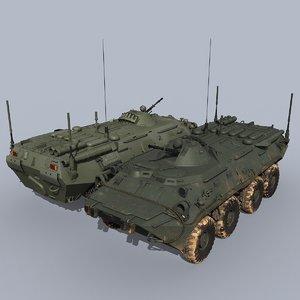 r-149ma3 command vehicle apc 3D