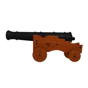 naval cannon model