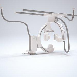 3D siemens artis x-ray angio