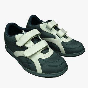 retopology sport shoes 3D model