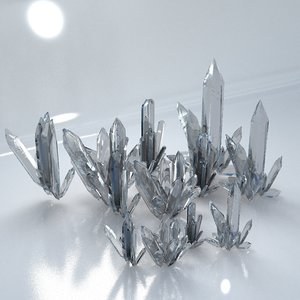 3D model crystal kit