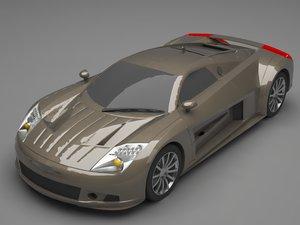 chrysler 4 3D model