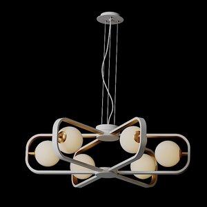 avola modern maytoni 3D model