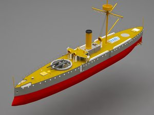 battle ship model