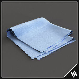 3D camera lens cleaning cloth