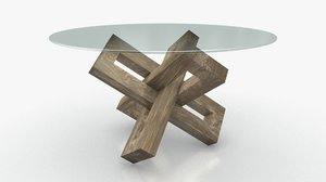 intersecting links table 3D