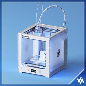 3D ultimaker filament spools