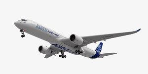 3D airbus a380 model