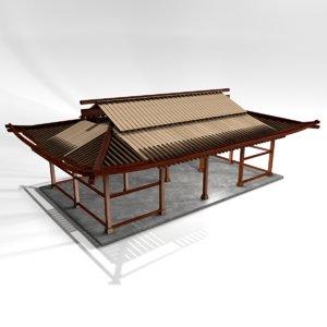 hanok 3D model