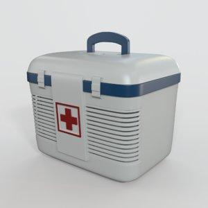 3D model medical transplant cooler