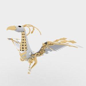 3D model phoenix